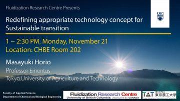 Seminar from Professor Masayuki Horio